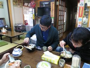 湯西川でけんちん蕎麦をいただきました